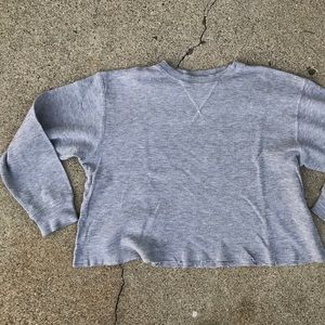 Brandy Melville grey thermal